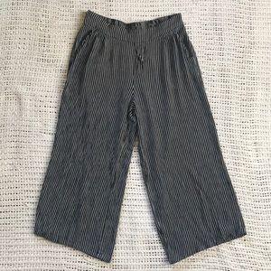 Anthro Anama Small Palazzo Striped Pants